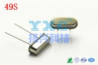 Wholesale mhz hc s DIP PF Passive Quartz Crystal Resonator crystal m m crystal MHZ S cristais