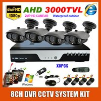 best high resolution security camera - Best Home Channel HD P CCTV Video Surveillance AHD High Resolution Waterproof MP CH Security Camera System Kit