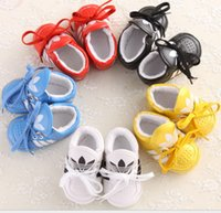 baby home shoes - 2015 PU lace boy princess soft bottom baby fall spring recreational indoor walking home toddler shoes outlets hot sale pair CL