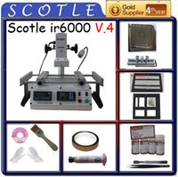 achi rework - Freeshipping V Infrared BGA Rework Station Scotle IR V4 Upgrade from Achi ir6000 with Valued usd dollars Free Gifts