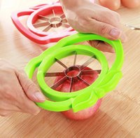 apple slicer corer - New Hot Apple cutter knife corers fruit slicer Multi function ABS stainless steel kitchen cooking Vegetable Tools Chopper fei