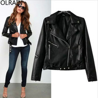 Cheap Black Biker Jacket Womens | Free Shipping Black Biker Jacket ...
