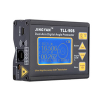 Wholesale Brand New TLL S Super High Precision Angle Meter Professional Dual axis Digital Laser LED Level Inclinometer V Hz