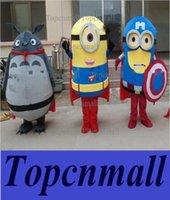 vendita calda 2015 nuove Serventi speciali me Cattivissimo Il mio vicino Totoro del costume della mascotte di formato adulto Carnival party costume di Halloween di Natale gratis