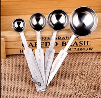 Wholesale 300set Stainless Steel tea and table Measuring Spoon Set in kitchen Cooking tools and baking Tools