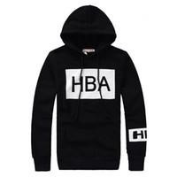 brand men hoodies jackets - 2015 Hood by air sweatshirts Hip hop brand desinger HBA hoodies pullover outerwear Man Winter Hooded Jacket