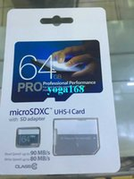 128gb sd card - 2016 Hot GB Pro Class10 UHS MicroSDXC TF SD Card for Digital Camera Smart Phones and Tablet PC MB s with SD Adapter