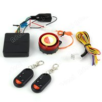 Wholesale New Motorcycle Bike Anti theft Security Alarm System Remote Control Engine Start V