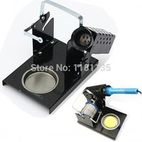 Wholesale Professional Soldering Caddy Reel Built in Basin Sponge Solder Iron Stand Wire Holder