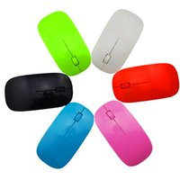 Wholesale USlink fatory supply Candy color ultra thin wireless mouse and receiver G USB optical Colorful Special offer computer mouse