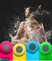 mini bluetooth speaker - 2016 Portable Waterproof Wireless Bluetooth Speaker mini Suction IPX4 speakers Shower Car Handsfree Receive Call Music Phone Multicolor