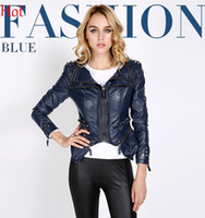 Compare Blue Leather Motorcycle Jacket Prices | Buy Cheapest