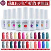 Wholesale 24PCS Authentic high quality soak off gel polish nail gel lacquer varnish for gelish nail polish uv gel