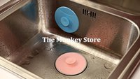bathtub stopper - Drain Plug Circle Silicon Bathroom Leakage Proof Stopper Sink Water Plug Rubber Bathtub Stopper F1652