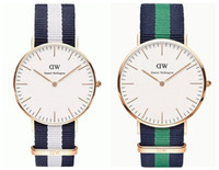 nylon straps - Top Brand Luxury Style Daniel Wellington Watches DW Watch For Men Women Nylon Strap Military Quartz Wristwatch Clock Reloj hombre mm mm