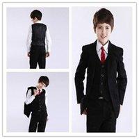 beautiful boy pictures - 2015 New Style Hot Sale Beautiful Custom Handsome Wedding Boy Ring Bearer Suit Tuxedo Formal cloth Jacket Pants Tie Vest