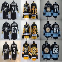 Wholesale Mario Lemieux Jersey Phil Kessel Jersey Olli Maatta Pascal Dupuis Chris Kunitz James Neal Pittsburgh Penguins Jersey Ice Hockey Jersey