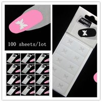 beauty tips models - New Arrival Designs Nail Art beauty French Seal Tip Hollow Out Model Tattoo Nail Stickers packs