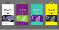 bag custom paper - 200pcs Colorful Custom Retail Paper Packaging Package Bag Box For Tempered Glass Screen Protector for iphone plus note