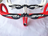 Wholesale carbon handlebar time rxrs road race bicycle bars toray carbon k size cm carbon bars for sale