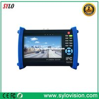 analog monitor cable - 7 quot IP camera tester CCTV tester monitor ip cameras HD AHD analog cameras testing cable scan ip revise PTZ V2A POE output