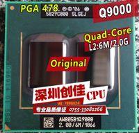 Wholesale Shipping free Laptop cpu processor Intel Original Q9000 GHz MB MHz quad core PGA478 scrattered pieces For GM45 PM45