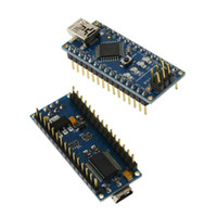 Wholesale IC Parts Integrated Circuits Atmel ATmega328 Board with Mini USB Cable Compatible For Arduino Nano V3