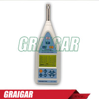 Wholesale ST high performance Class Integrating Sound Level Meter measures Lxyi Lxyp Lxeq Lxmax Lxmin LAE Lcpeak Lzpeak functions