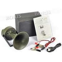 Wholesale Outdoor hunting Bird Caller mp3 Louder Speaker Decoy Built in Sound dB Built in bird sounds Green