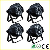 Wholesale DHL Fedex Indoor par light w led par light rgbwa uv in1 led par w led par can light for weeding stage light