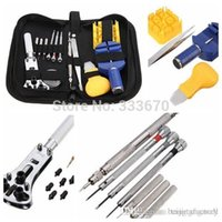 Wholesale Durable Portable New Watchmaker Watch Repair Tool Set Kit Pin Remover Case Opener Adjuster A3