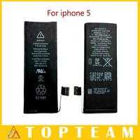 Wholesale Hotsale Original iphone Betteries Cell Phone Batteries For iphone S C S PLUS