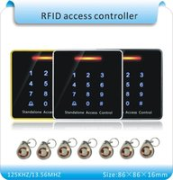 Wholesale crystal keyfobs RFID Proximity Card Access Control System touch Keypad Access Controller