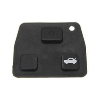 toyota car remote key - 50pcs Replacement Remote Key Silicon Rubber Pads Buttons Car Key For Toyota Avensis Corolla Lexus RVA4