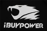 athletic clothing logo - ibuypower LOGO Print Men women Gaming Hoodies sweatshirts LOL CSGO Team athletics Clothing