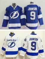 Ice Hockey best bay - 2016 Cheap New Men s Tyler Johnson Jersey Color Blue White Tampa Bay Lightning Ice Hockey Jerseys Stitched Best Quality