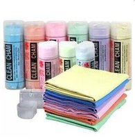 Wholesale EMS Car Towel Clean Cham Kitchen Towels AbsorbentRandom Color Quick Dry Magic Towel