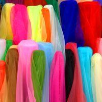 adult tutu diy - New Many Colors Cm quot Width Yard Soft Organza Tulle Fabric Diy Bridal Wedding Dress Petticoat Ball Gown Tutu Bubble Skirt
