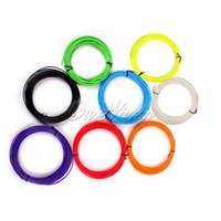 Wholesale 1 mm Diameter ABS D Filament Print Ink Printer Pen Colors Every Set