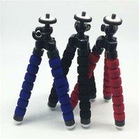 camera grip - Mini CM Digital Camera Stand Flexible Leg Tripod Grip Octopus Bubble Pod Monopod Mobile Phone Holder Clip mm