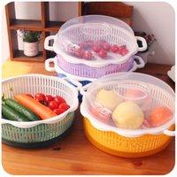 Wholesale Silently love creative plastic tape cover fruit dish washing basket basket tray Lek bread box room fruit bowl