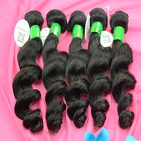 clip in one piece extensions - Virgin Loose Wave One Piece Clip In Human Hair Extensions Real Remy Natural Human Hair Extensions