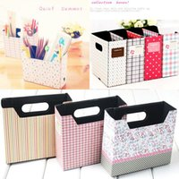 Cheap DIY Hot Makeup Cosmetic Stationery Paper Board Storage Box Desk Decor Organizer MD349