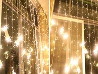 light bulb string lights - 10 m LED Curtain Light Christmas ornament Flash Colored Fairy wedding Decoration Lighting LED Strip string lights bulbs Waterproof