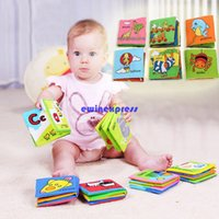 Wholesale New Baby infant Cloth books cloth toys kids child learning and educational toy counting insect Sea World Animal assorted
