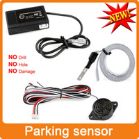auto reverse sensor - Easy Install Auto Electromagnetic Parking sensor no drill no hole Car Reverse Parking Radar System