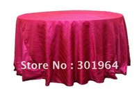 Wholesale pintuck taffeta table cloth GSM thick taffeta fabric various colour high quality DHL door to door fast delivery