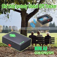Wholesale Mini Global Realtime GPS Tracker Mini A8 GSM GPRS GPS Tracking Device For Children Pet Car