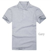 Wholesale Customized Service Workers Cotton Lapel Polo Shirt Classic Fashion Models Can Be Customized Color Logo