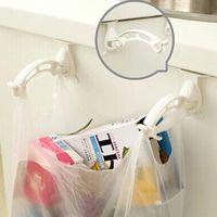 bathroom wall shelves cabinets - Kitchen Cabinet Trash Garbage Bags Hanger Cupboard Door Hanging Rack Storage Hook Holder